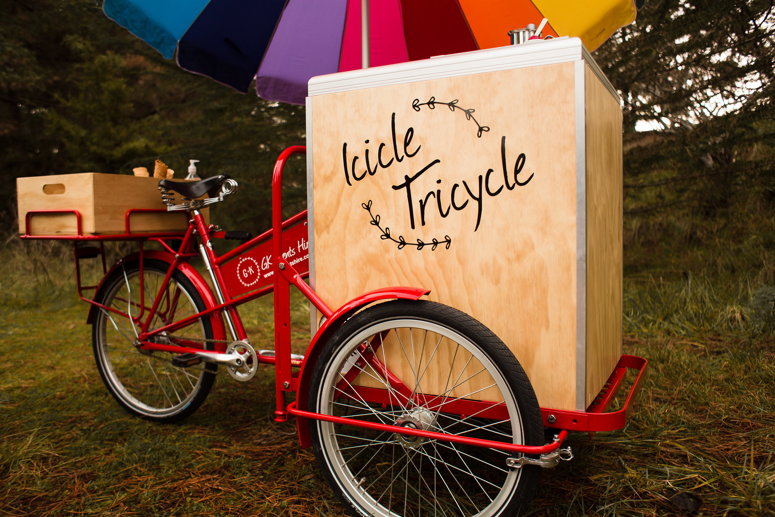 GK Events Hire Icicle Tricycle