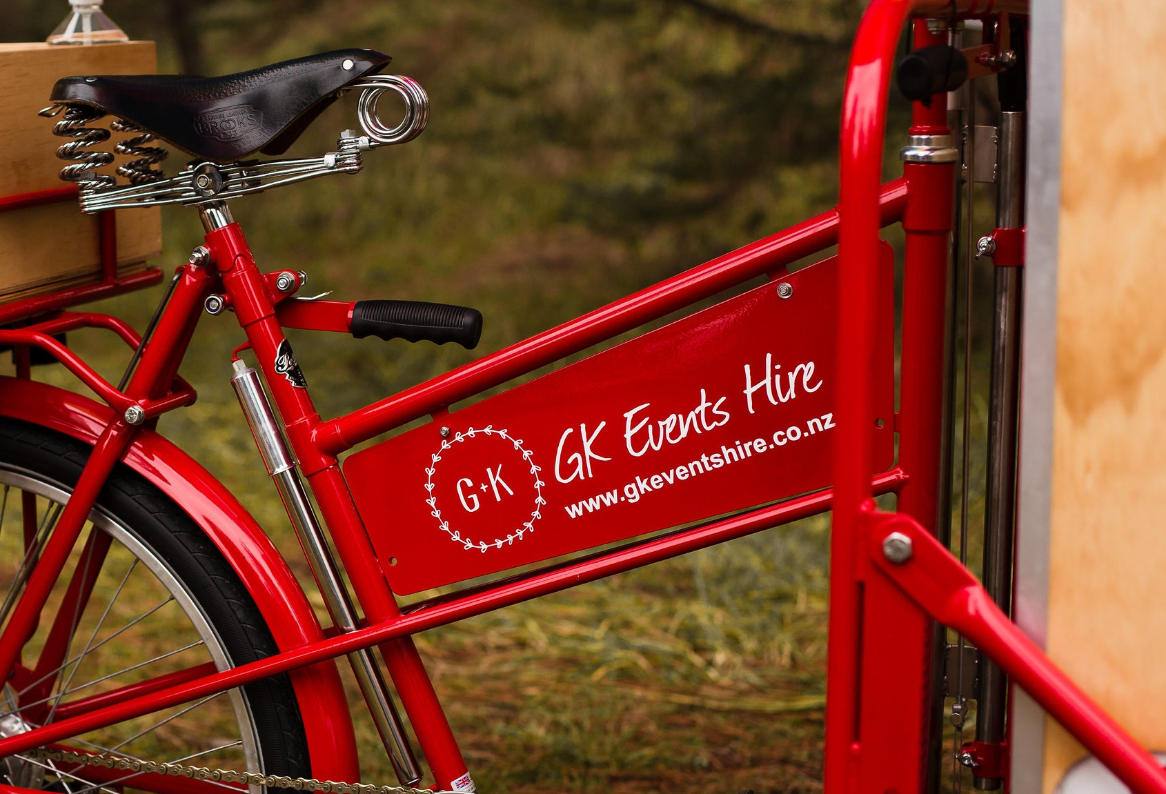 GK Events Hire Icicle Tricycle Bike Package