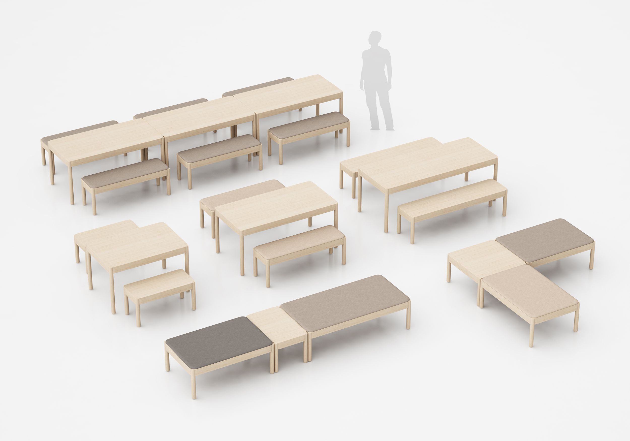 Wakufuru Collection - Design by Johan Kauppi for Glimakra of Sweden