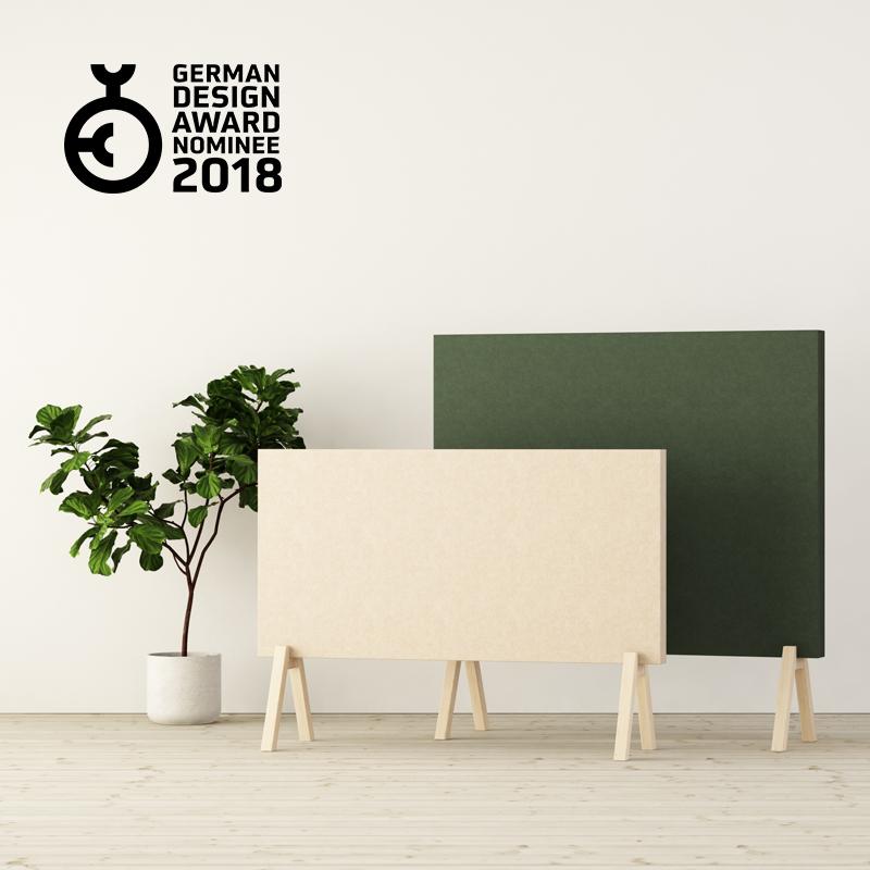 Subtle Floor Screens by Glimakra of Sweden, design Johan Kauppi