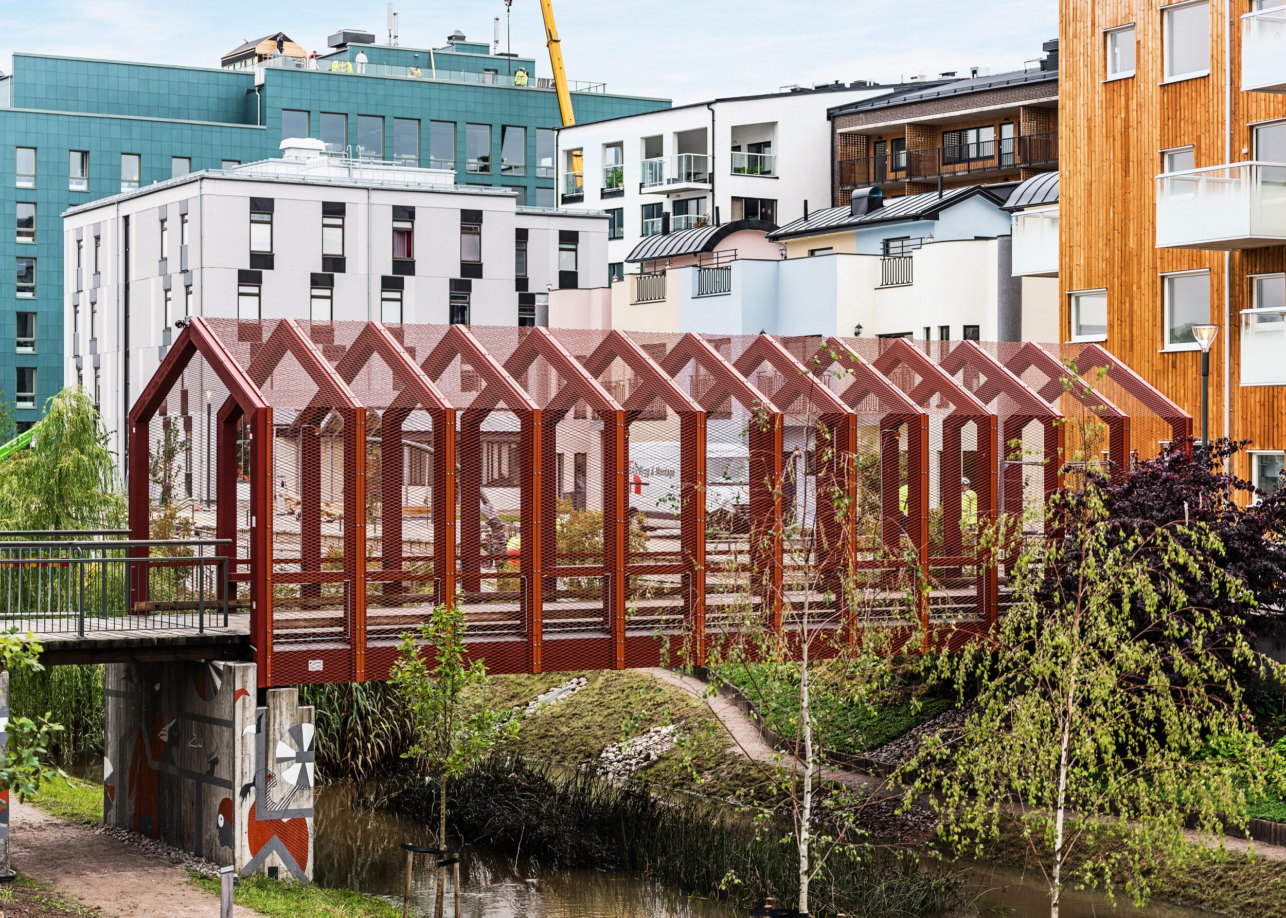 Tartubron (The Tartu Bridge) at Vallastaden Urban Living Expo. Photo: Vallastaden 2017