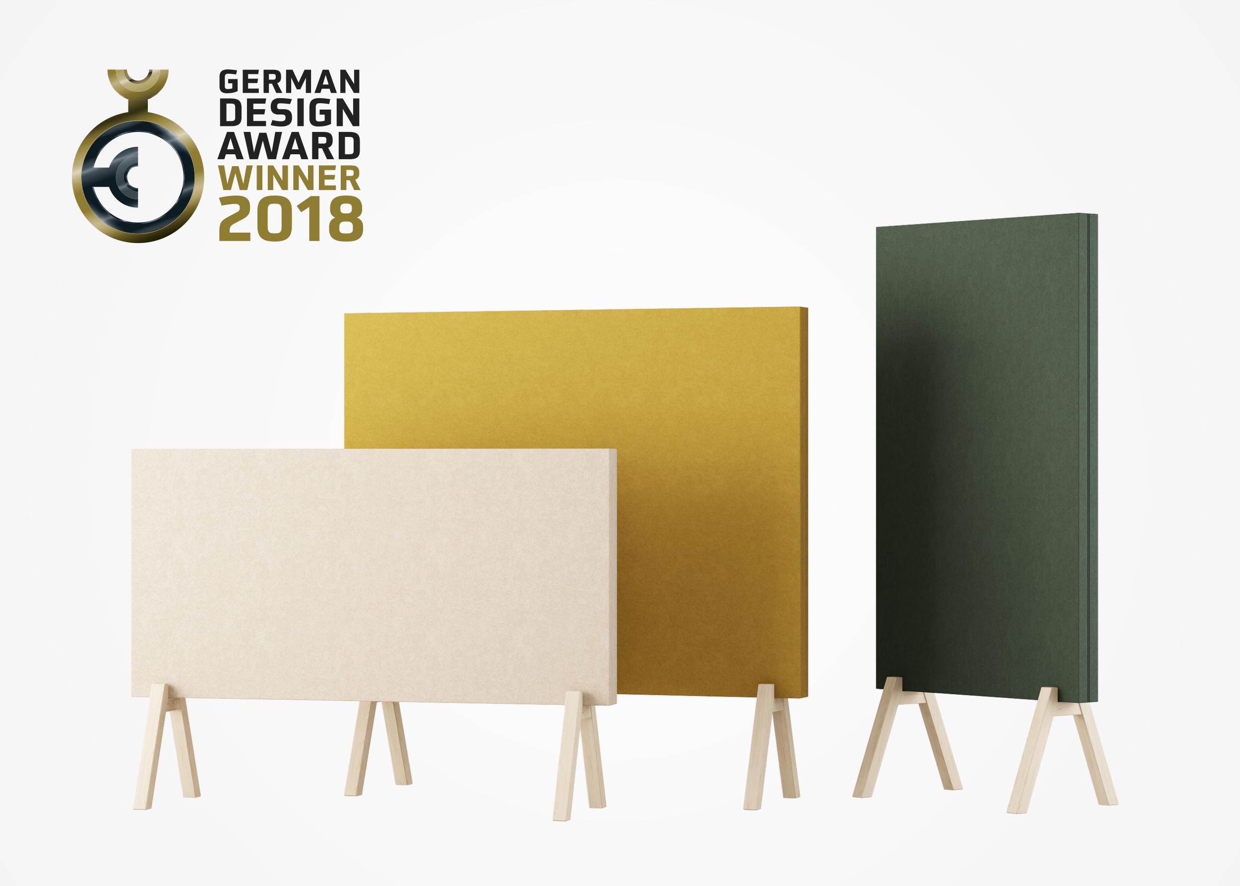 Subtle by Glimakra of Sweden, design Johan Kauppi. Winner, German Design Award 2018.