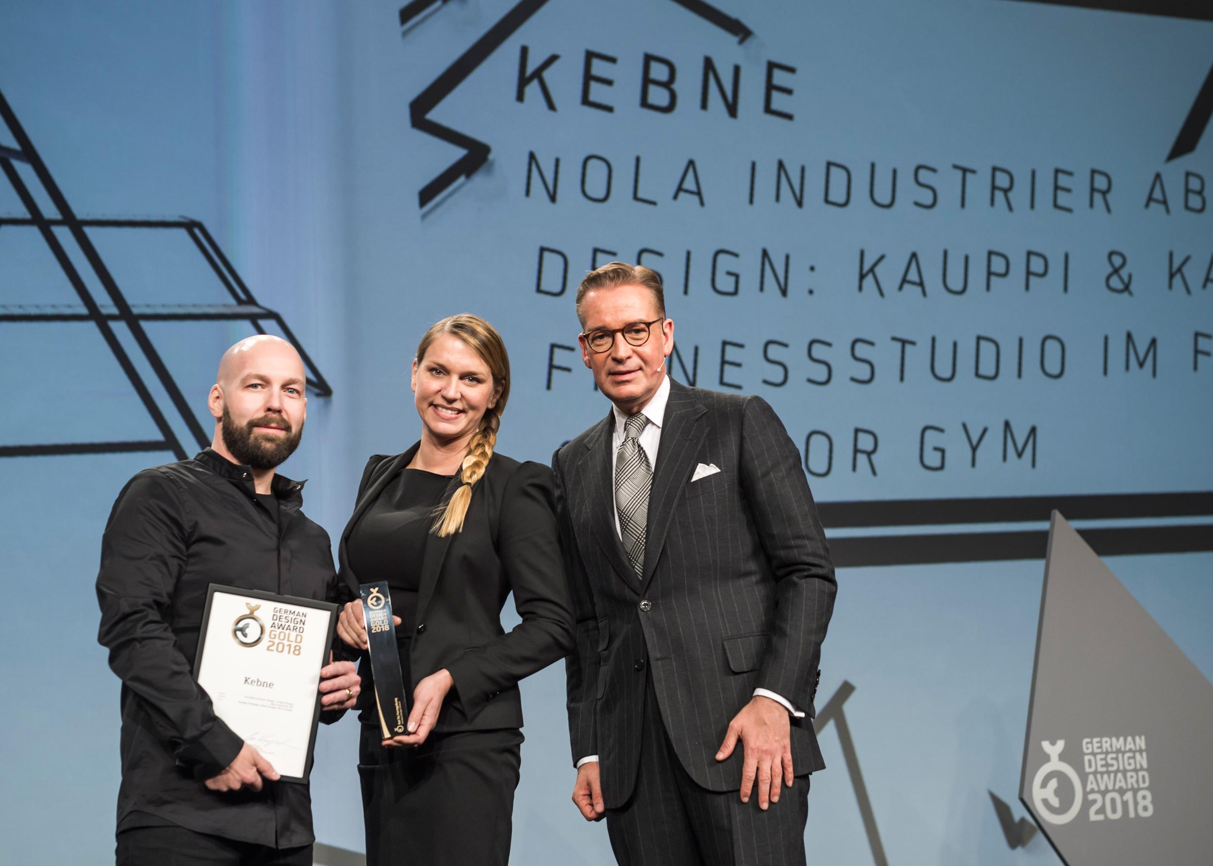 German Design Award 2018 - Gold - Kebne by Nola - Design Kauppi & Kauppi