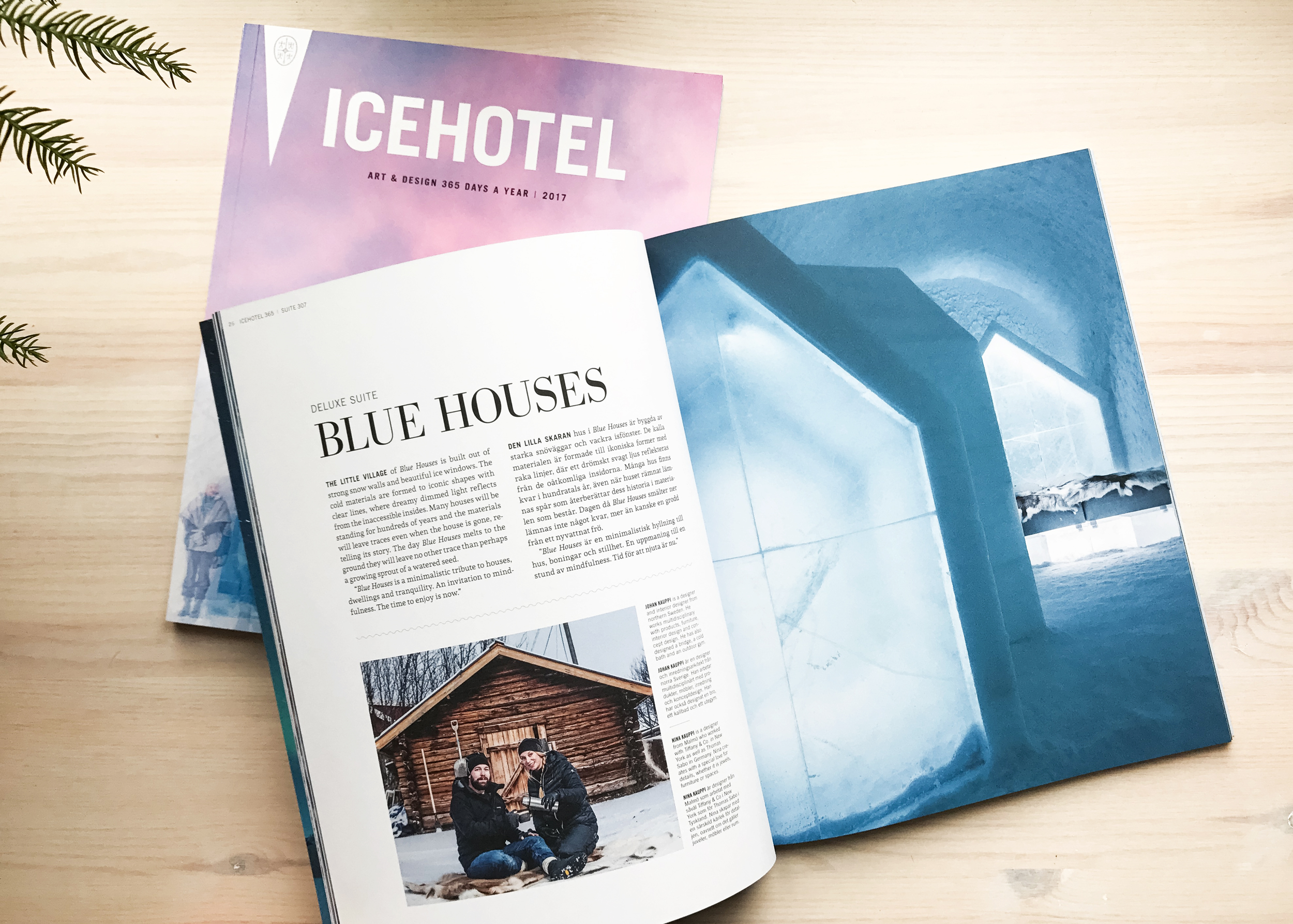 Icehotel Catalogue 2017_Blue Houses_Kauppi & Kauppi