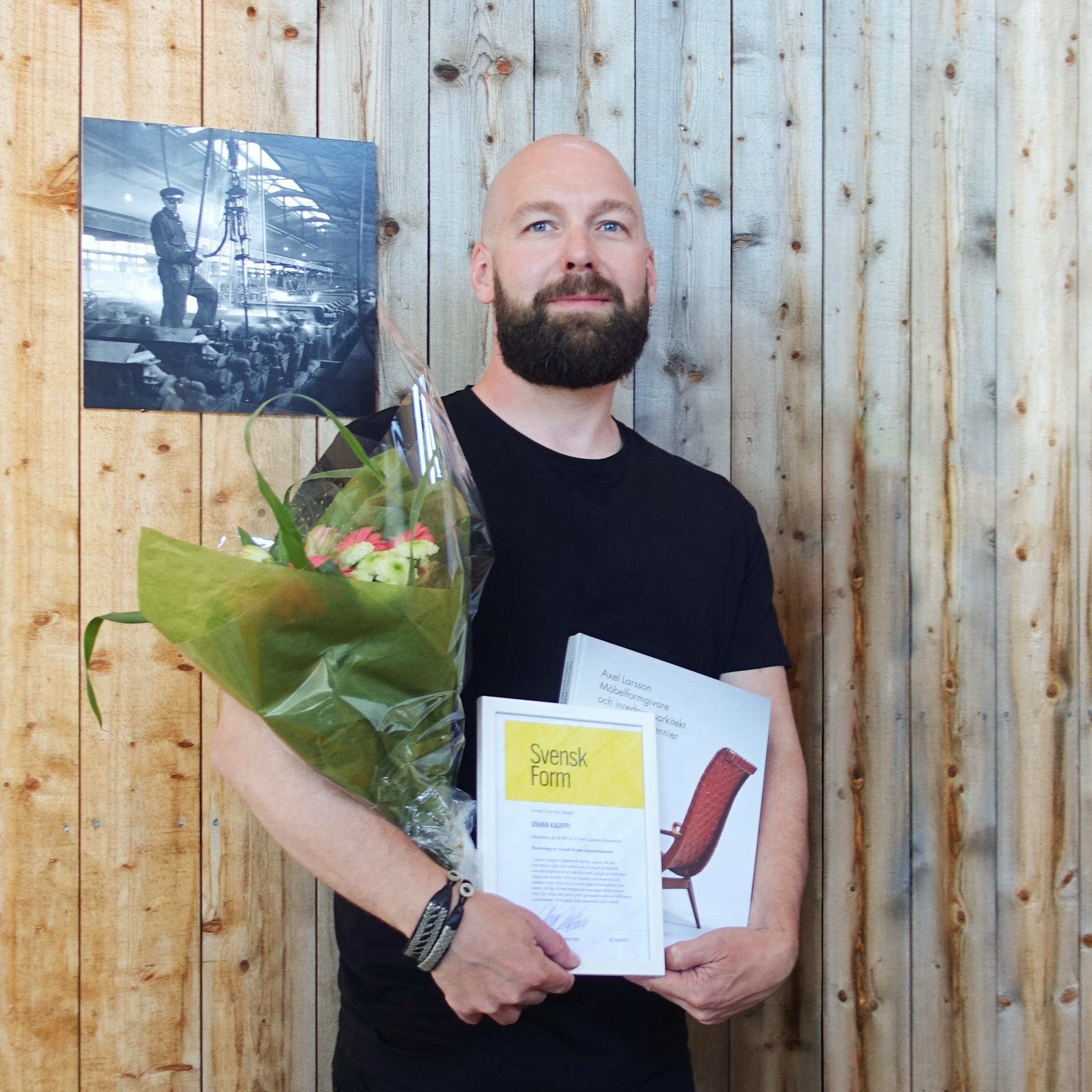 Svensk Form - Stipendiat 2018, Johan Kauppi