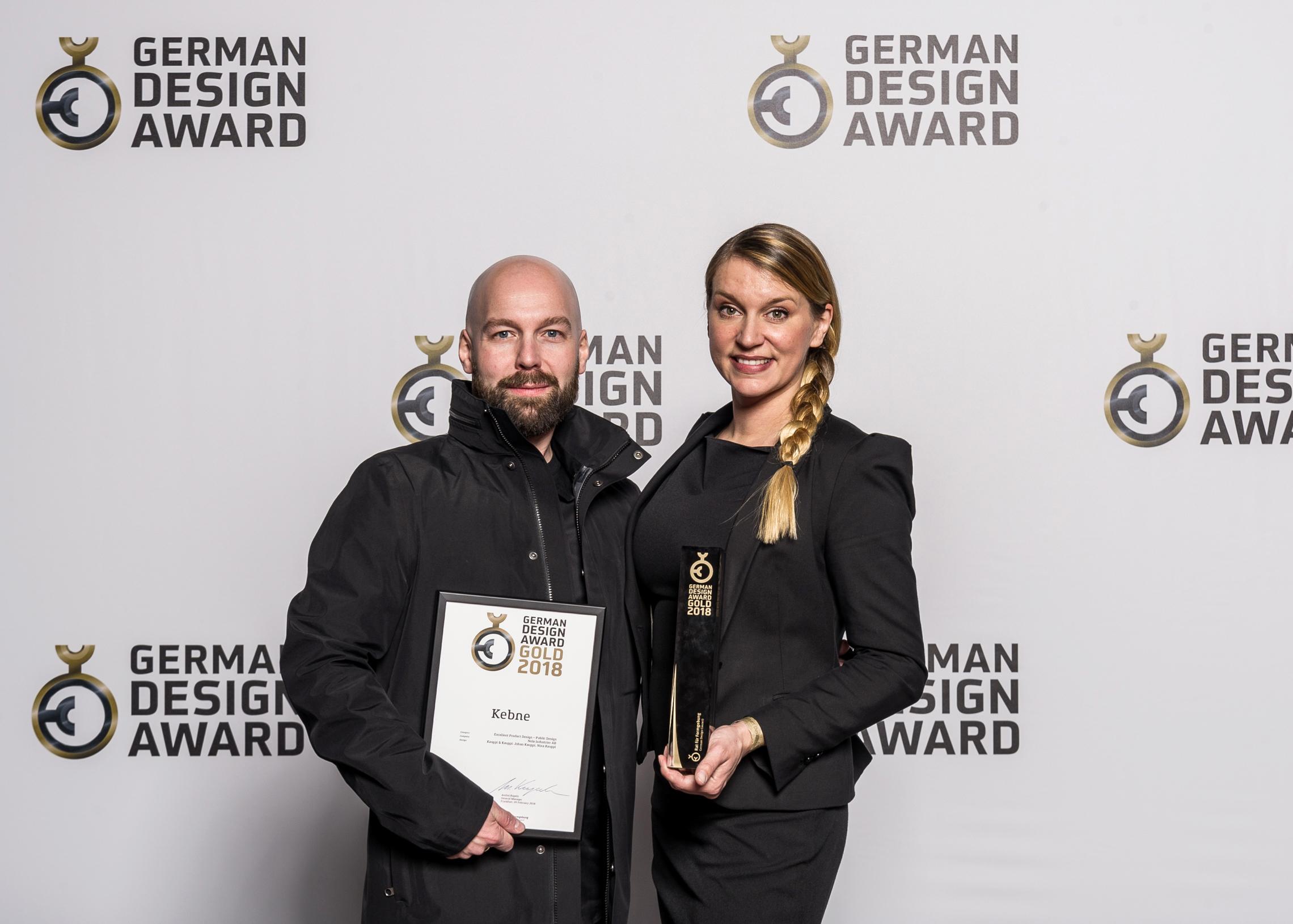 GDA 2018 - GOLD - Kebne by Nola - Design Kauppi & Kauppi - Johan Kauppi & Nina Kauppi