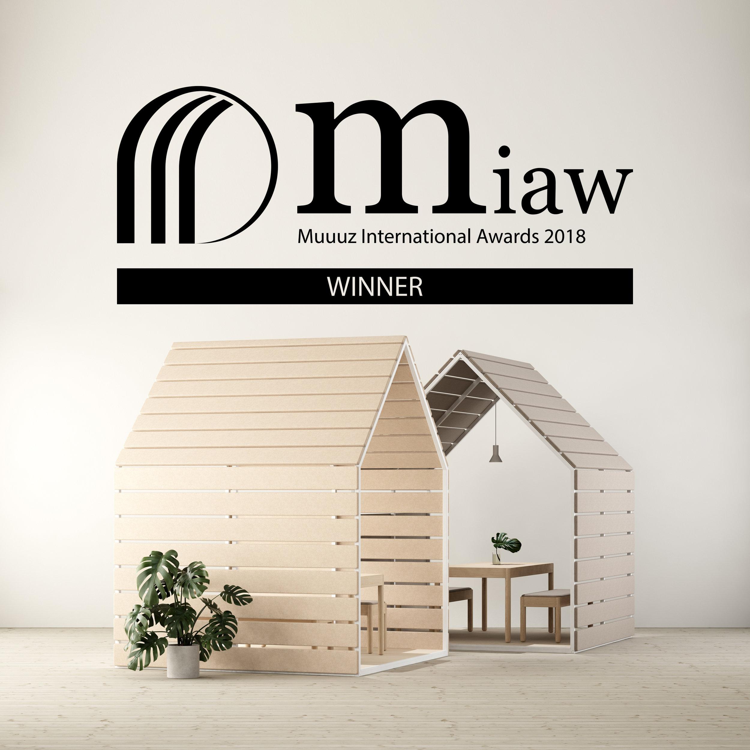 MIAW - Muuuz International Award 2018, The barn & Fences by Johan Kauppi for Glimakra of Sweden