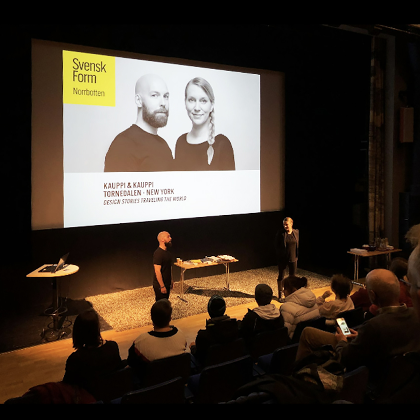 Design Talks in Kiruna & Luleå arranged by Svensk Form Norrbotten.