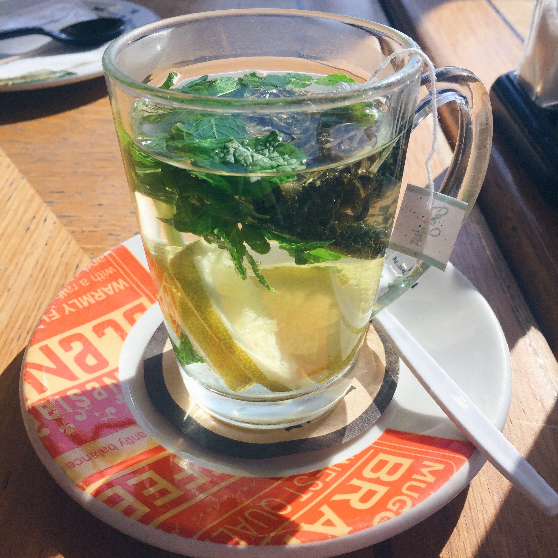 Infused Lemon and Mint Green Tea ~ 28.90 ZAR
