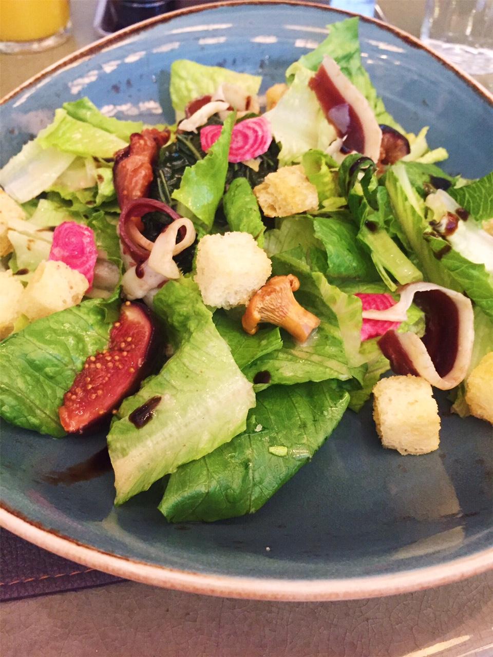Grilled Kale & Fig