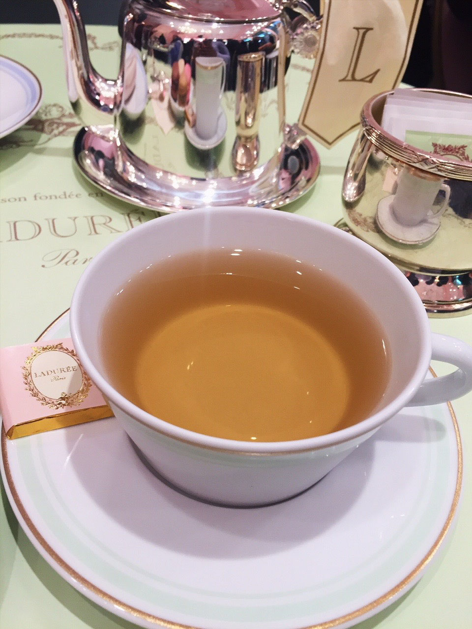 Marie Antoinette Tea at Ladurée Boutique and Tea Salon in Toronto