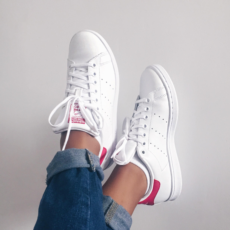 Pink Adidas Stan Smith