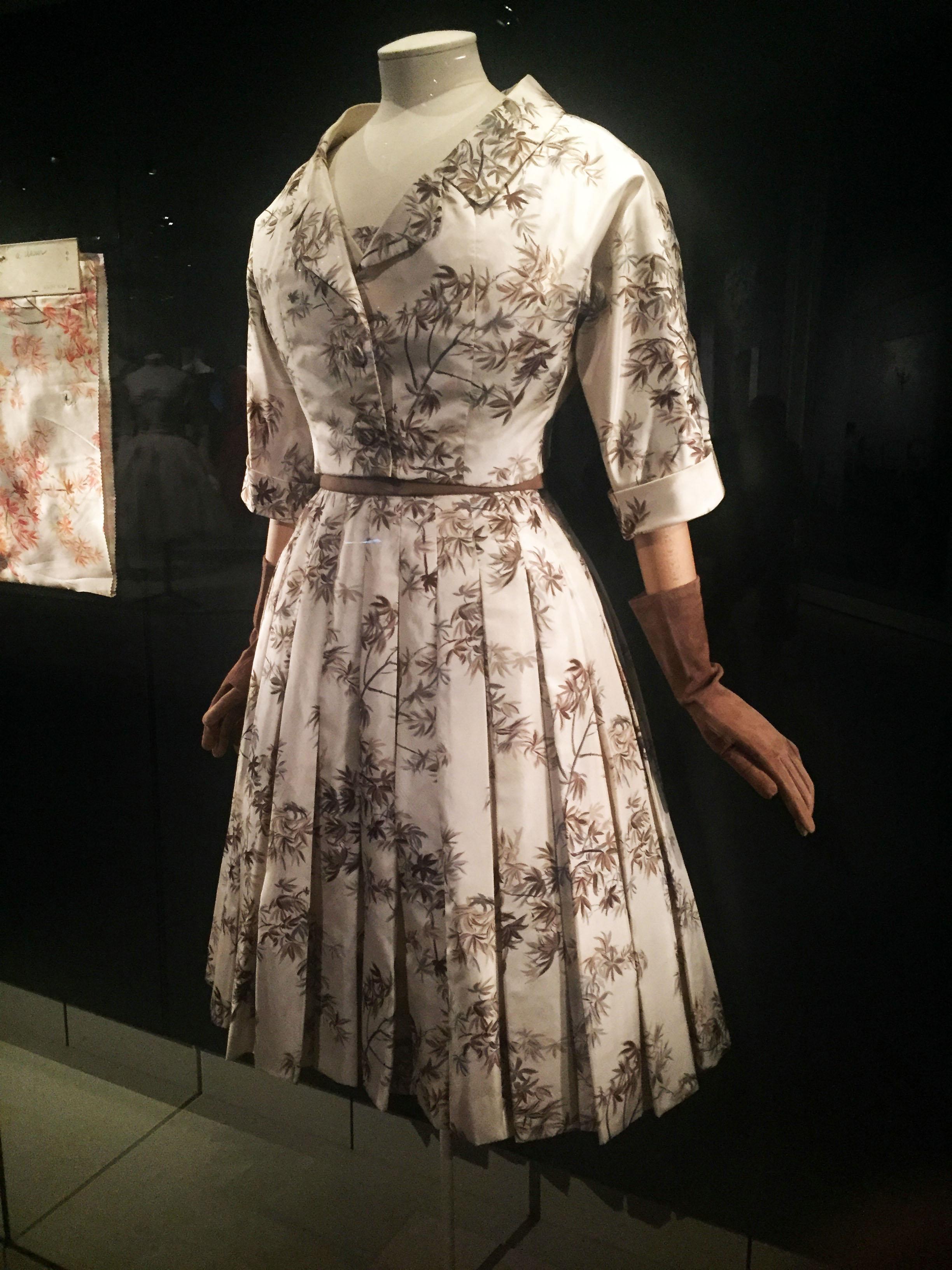 Dior Dress and Brown Gloves.jpg
