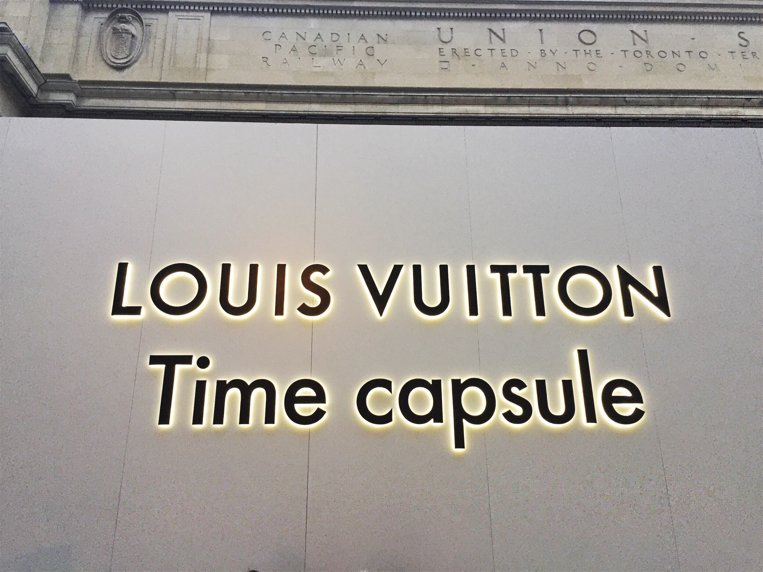 Louis Vuitton Time Capsule Collection in Toronto