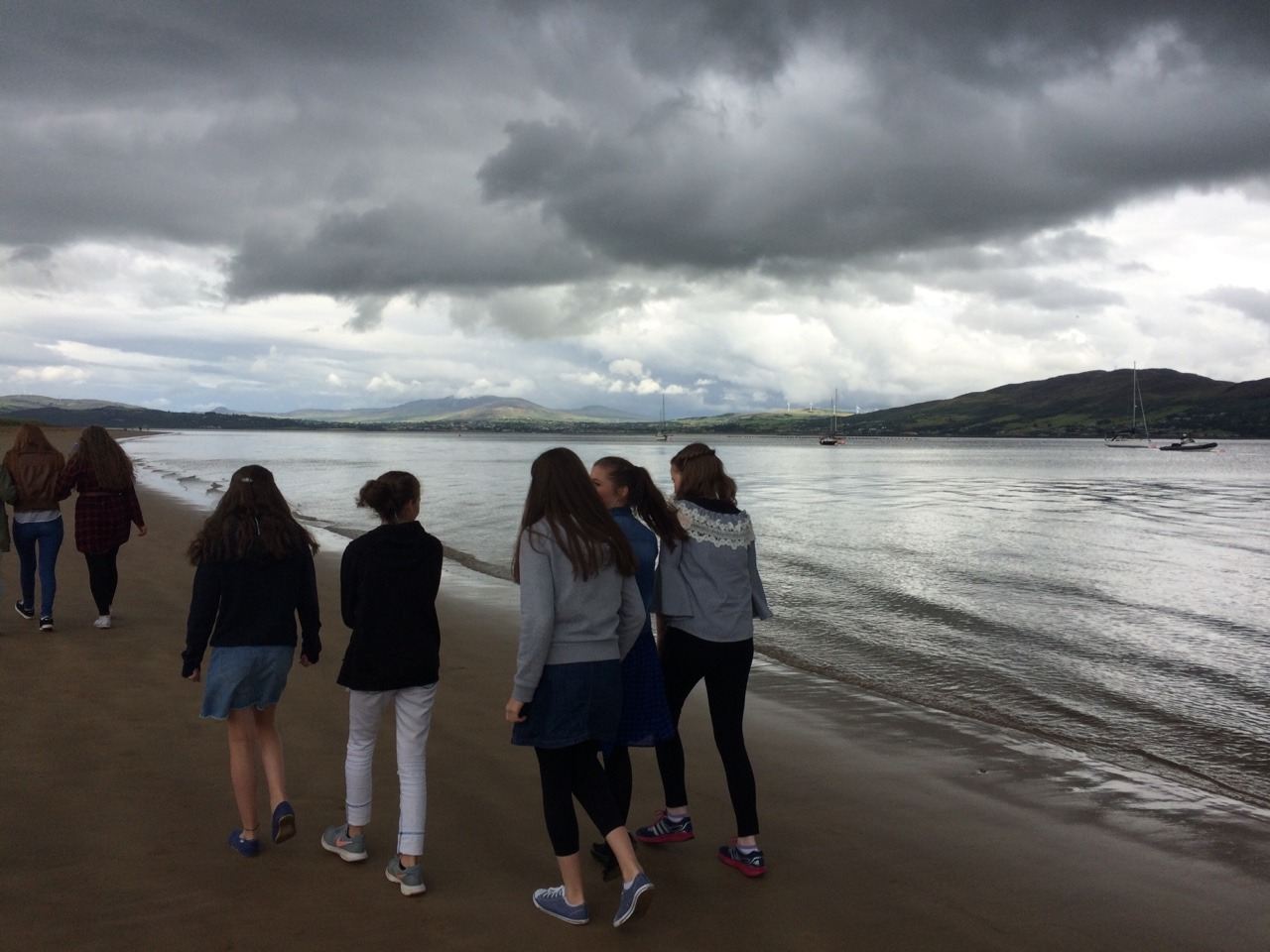 Thankfully it stayed dry for the walk at Rathmullan