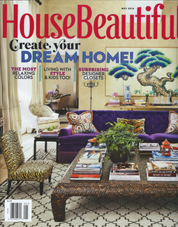 HOUSE BEAUTIFUL, MAY 2014