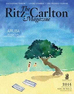RITZ CARLTON MAGAZINE, 2014