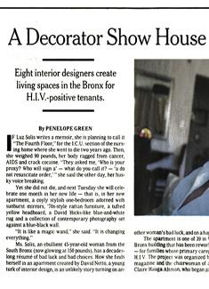 NEW YORK TIMES, NOVEMBER 2006