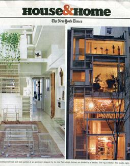 NYT HOUSE & HOME, NOVEMBER 2004