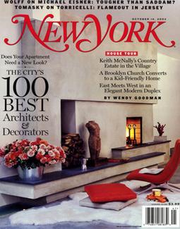 NEW YORK, OCTOBER 2002