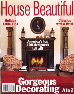 HOUSE BEAUTIFUL, NOVEMBER 2000
