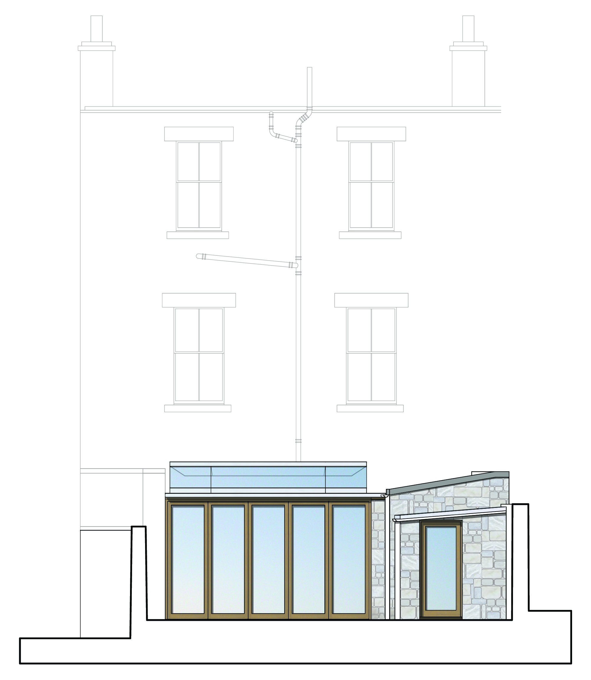 David Blaikie Architects_East Claremont Elevation