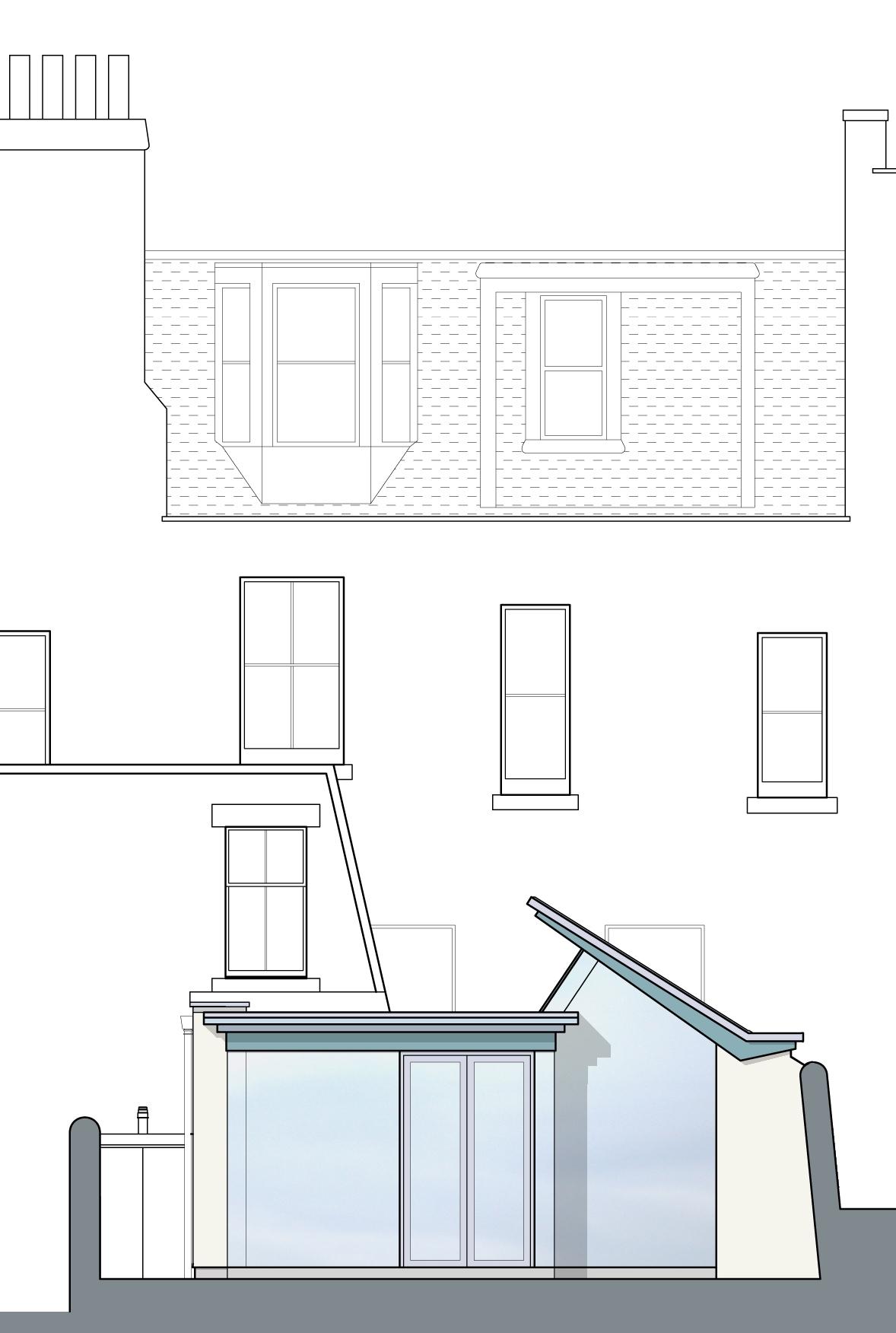 David Blaikie Architects_Garscube Terrace Elevation