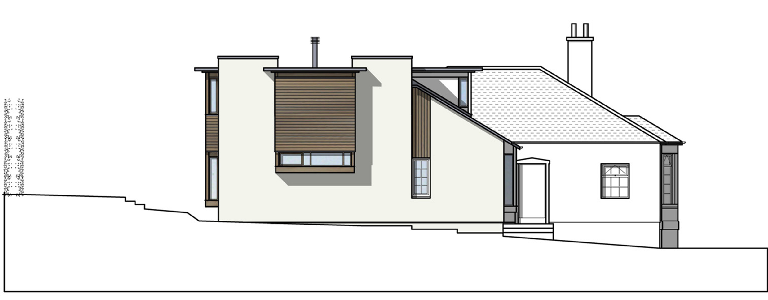 David Blaikie Architects_March Road Elevation