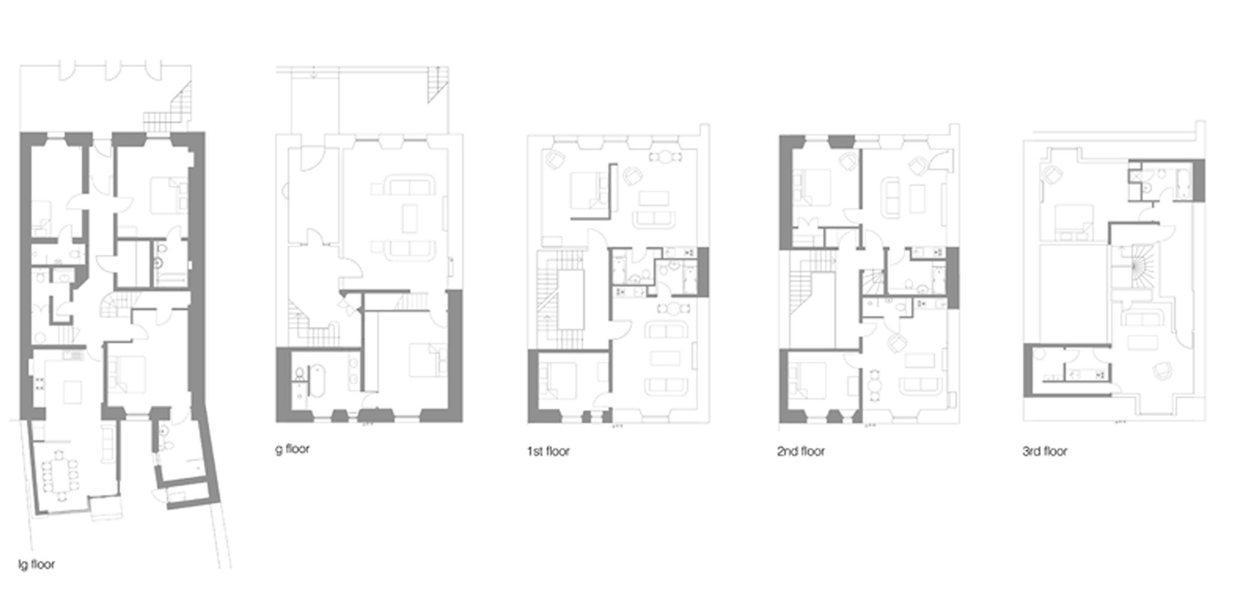 David Blaikie Architects_Clarendon Crescent Plans