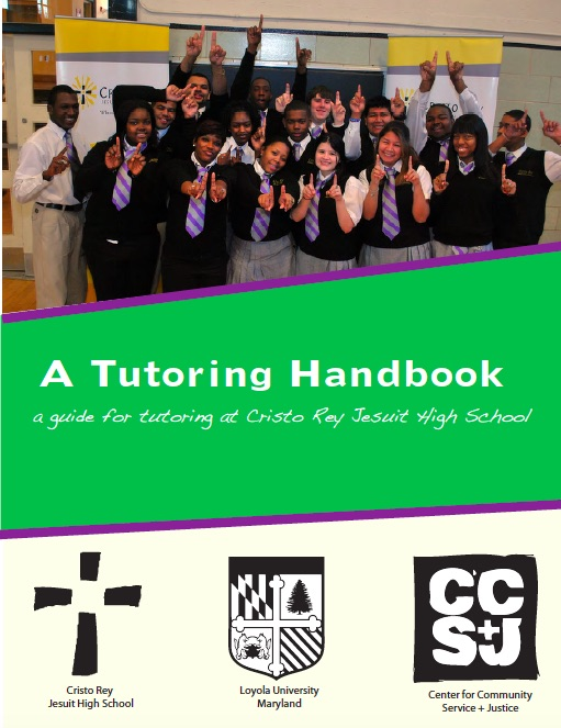 loyola professional writing students tutored students in writing at cristo rey jusuit high school and composed a tutoring handbook