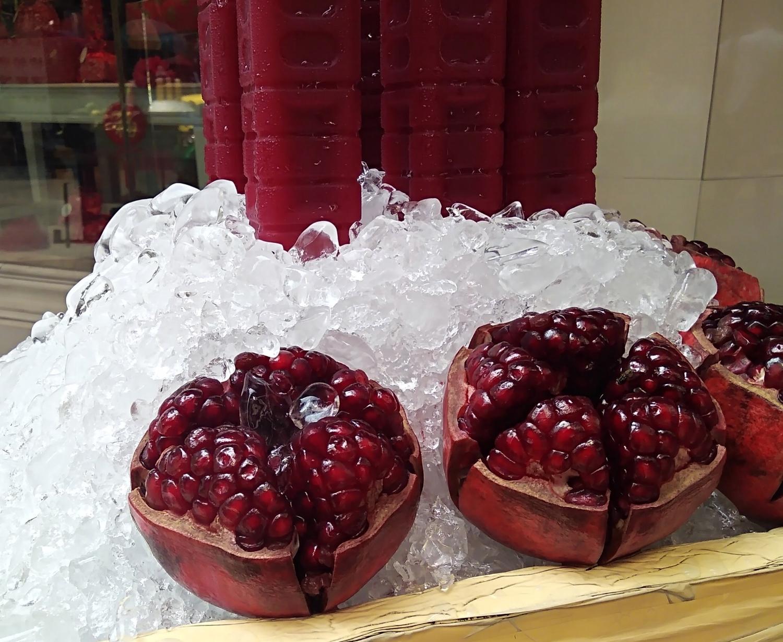 There pomegranates doe... #nofilter
