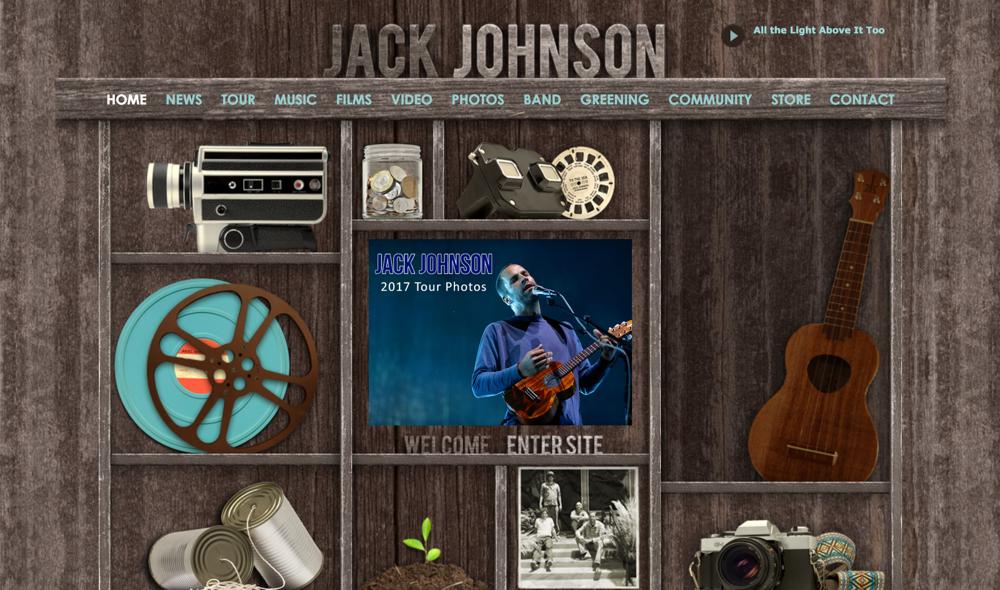 jackjohnsonmusic.com