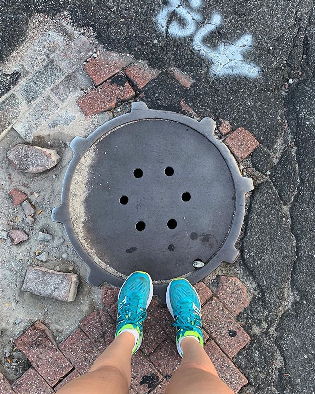 Too early for manholes