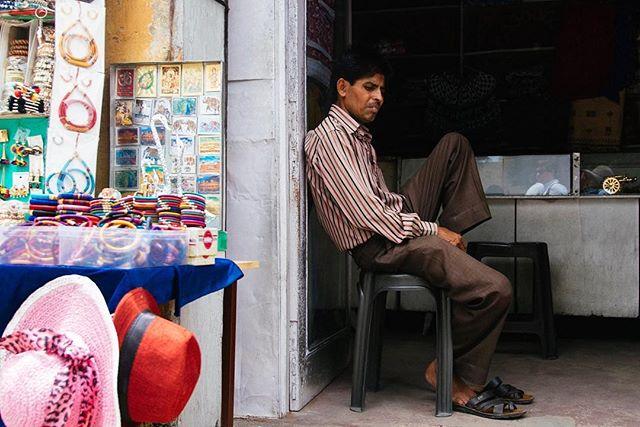 Shopkeeper, Jaipur #jaipur #india #nikond750 #rajasthan