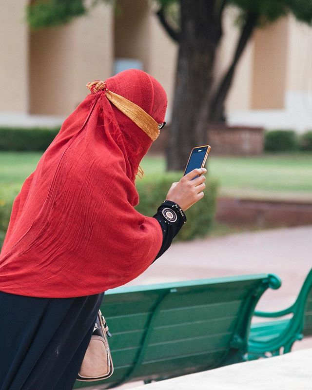Woman taking photo, Jantar Mantar, Jaipur. #rajasthan #nikond750 #jaipur #tourist #jantarmantar