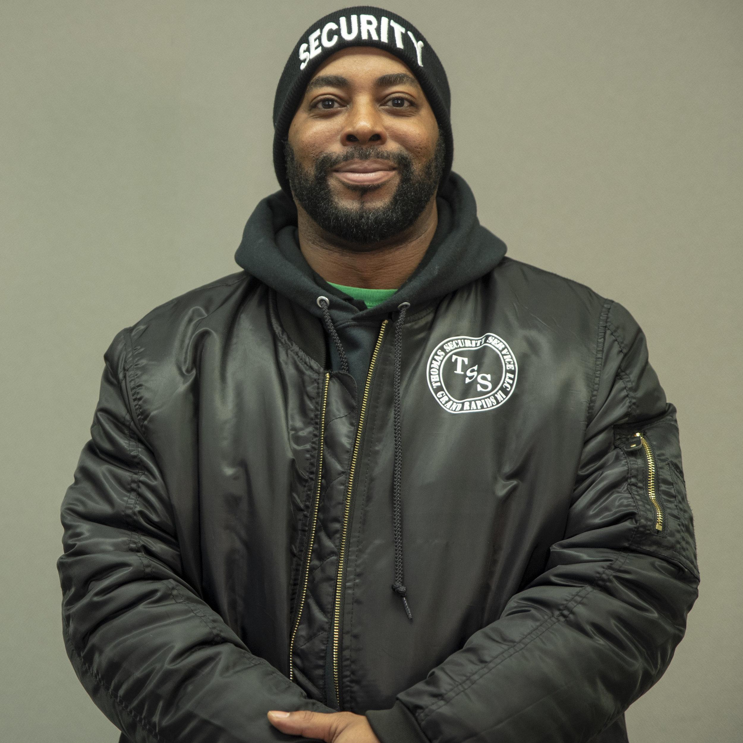 Chris Thomas - Security Manager