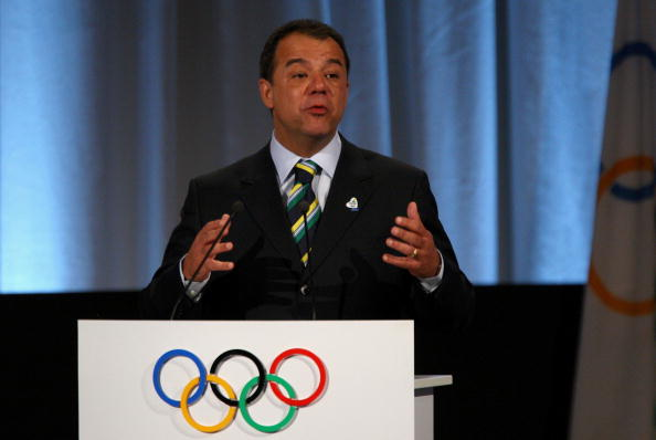 The then-Rio governor, Sergio Cabral, pitching the IOC in 2009 as part of the winning Brazilian campaign. Cabral is now sentenced to 14 years in prison for corruption // Getty Images