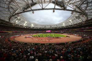 Olympic Stadium during the championships // Getty Images for IAAF