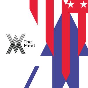 Logo for 'The Meet' // courtesy USATF