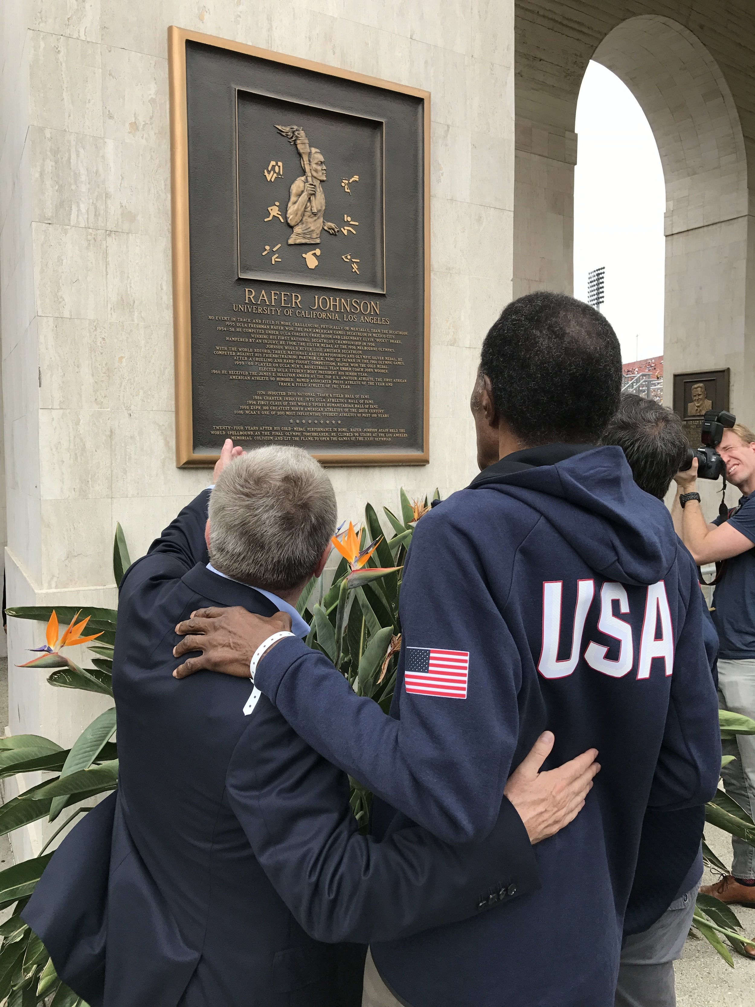 For all its flaws, all its controversies, the Olympic movement still delivers moments ... like this