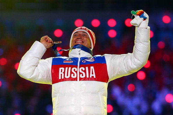 Alexander Legkov at the Sochi 2014 Games // Getty Images