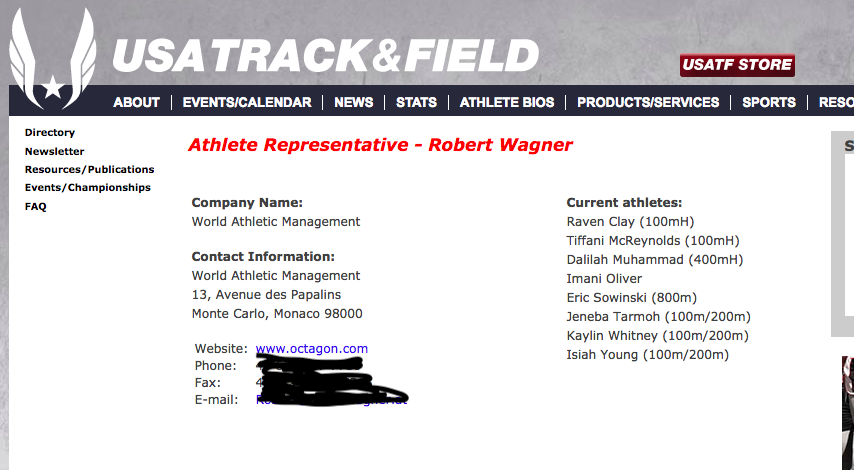 Wagner - USATF   Athlete Representatives.png