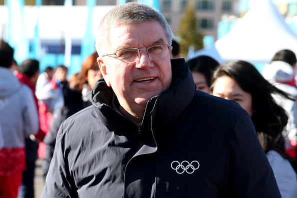 IOC president Thomas Bach in PyeongChang // Getty Images