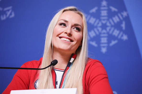 Lindsey Vonn at the 2018 Winter Olympics // Getty Images