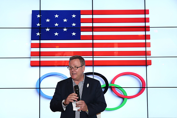 USOC chief executive Scott Blackmun at the Rio 2016 Games // Getty Images