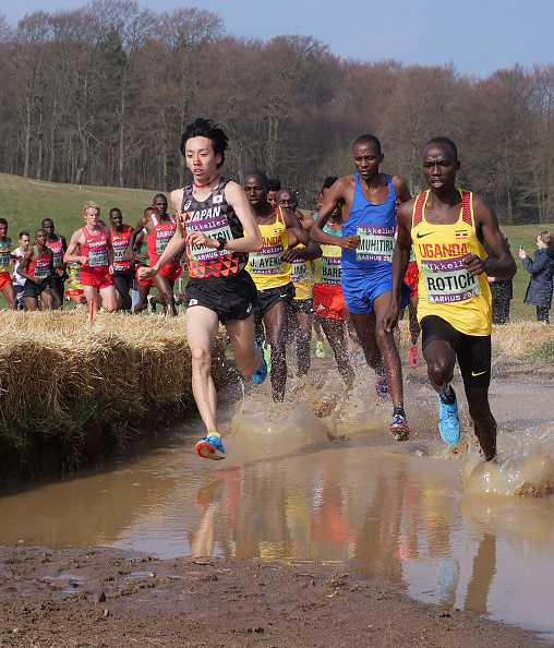 Fun in the mud at Aarhus // Getty images