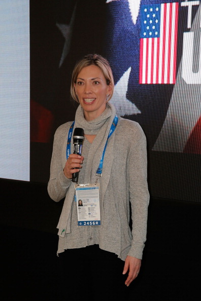 Beckie Scott at the Sochi Games // Getty Images