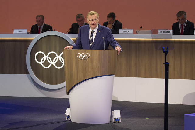 Australia's John Coates at the 2017 IOC session // IOC