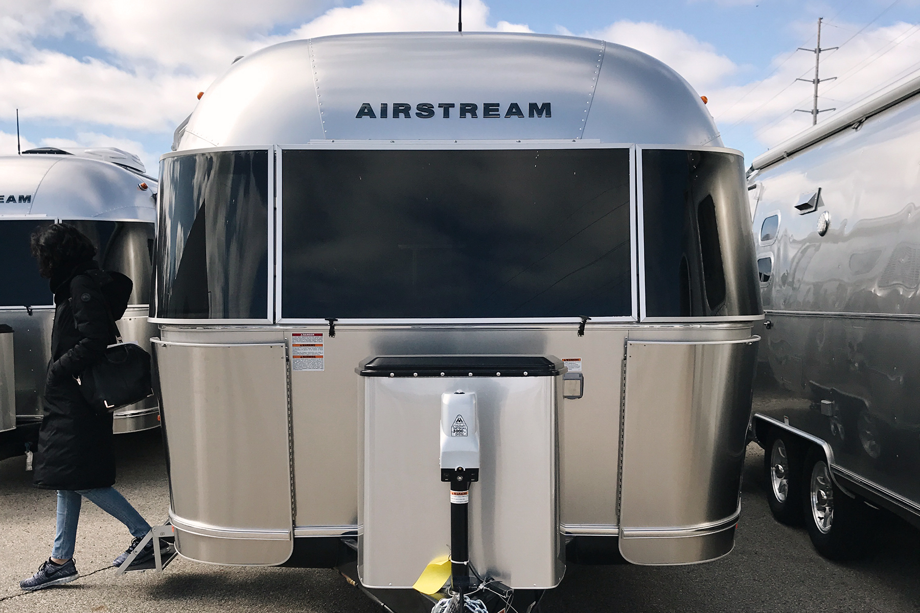 TYLER + KENDRA BOUGHT THEIR  AIRSTREAM  IN JUNE 2017 (AT  WOODLAND TRAVEL CENTER  IN GRAND RAPIDS, MI)