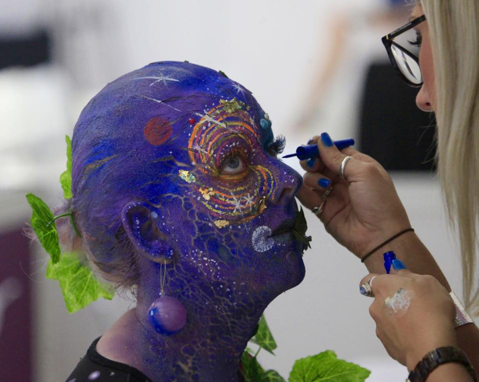 Award-winning look; 2nd Place Make-up at the Art of Make-up Competition, Olympia Beauty, London 2015